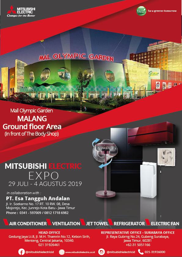 See You At Mitsubishi Electric Expo Malang Mitsubishi Electric Indonesia